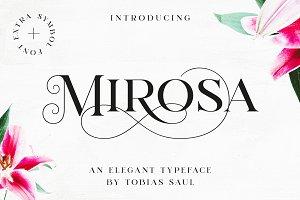 MIROSA Font – 30% OFF!