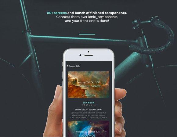 Ionic Multipurpose UI/UX Theme App