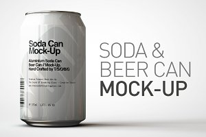 Soda Can | Beer Can Mock-Up 1