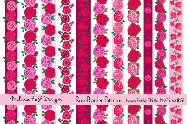Rose Border Patterns