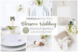 "Wedding Mockup Bundle ""Blossom"""