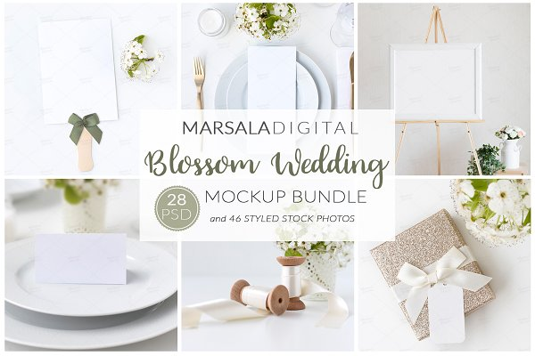 Wedding Mockup Bundle