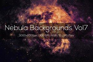Nebula Backgrounds Vol7