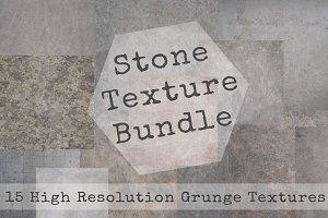 Grunge Stone Texture Bundle