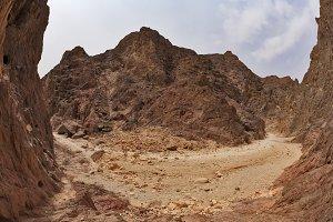 Stone desert at Red sea