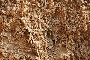 Rough clay surface