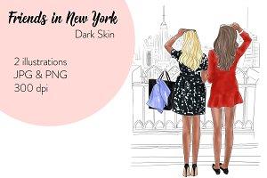Friends in New York - Dark Skin
