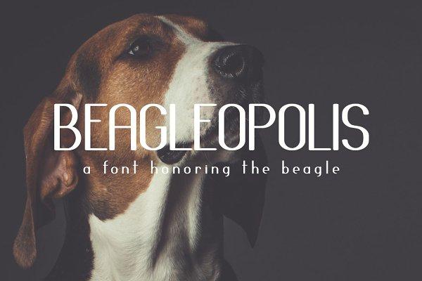 Sans Serif Fonts: Zeppelin Graphics - Beagleopolis Font