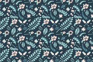 Wedding Floral Pattern