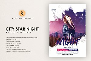 City Star Night