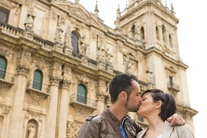 Cathedral kiss