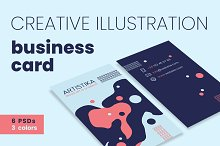Creative Illustration Business Cards