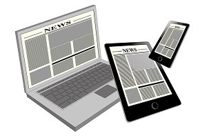 cross platform internet news