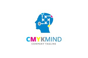 CMYK Mind Logo