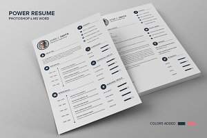 Power Resume CV - Smith