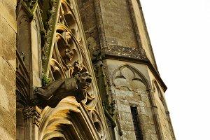 Gargoyle in Carcassonne, France