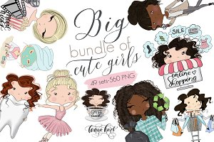 Cute Planner Girls Big Bundle SALE