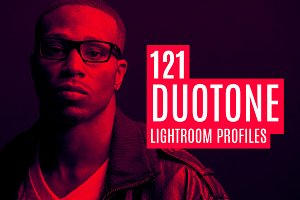 121 Duotone Lightroom Profiles