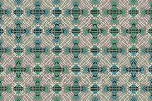 Modern Check Seamless Pattern Mosaic