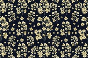Sunflowers Seamless Pattern