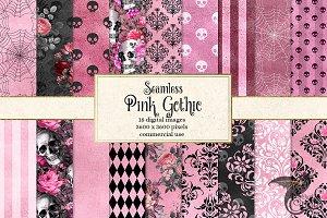 Pink Gothic Digital Paper