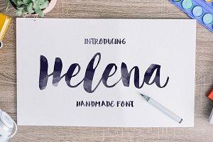 Helena — Script Font
