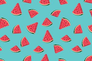 watermelon slices pattern