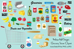 Grocery Store Clipart