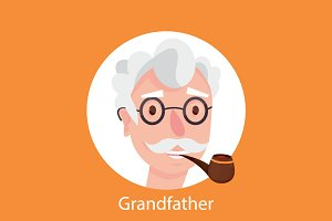 grandfather portrait