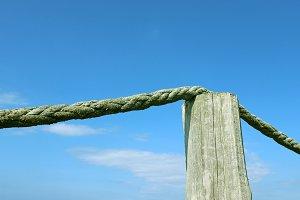 Sea Shore Rope Fence