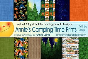 Annie's Camping Time Prints