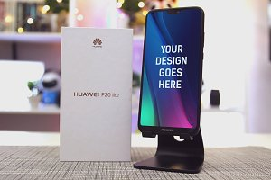 Huawei P20 Lite Mock-up #1