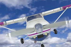 Cessna 172 Single Propeller Plane