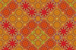 Multicolor Seamless Check Pattern