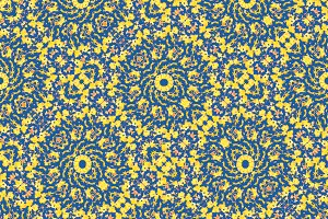 Modern Ornate Seamless Pattern