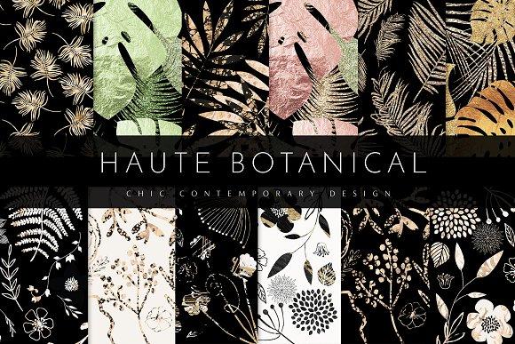 Chic Contemporary Haute Botanical