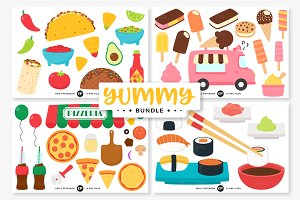 Food Clipart Bundle
