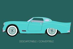 hardtop convertible car