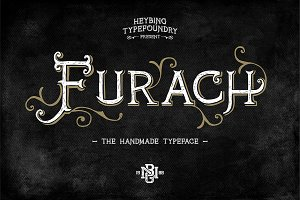 Furach Typeface + Bonus