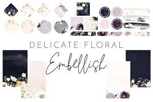 Delicate Floral - Embellish