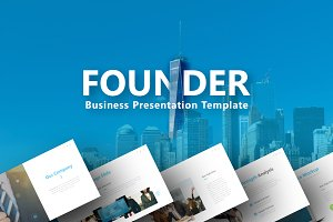 Founder - Business Powerpoint