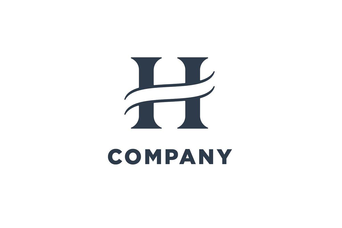 H Letter Images.Luxury Letter H Logo