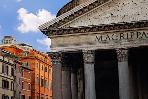 Rome, Italy, Famous Pantheon