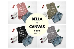 Bella Canvas 8803 Mockup Bundle V5
