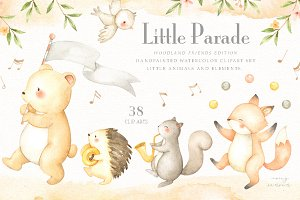 Little Parade Woodland Friends Ver.
