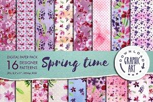 Spring Designer Paper Pack