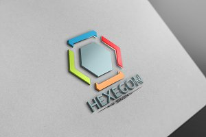 Hexagon Logo Version6