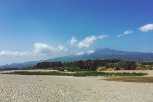 View of mountain Etna