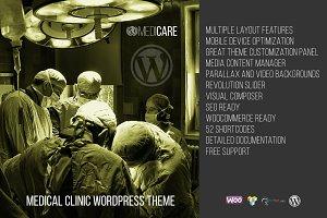 Medicare - Medical WordPress Theme