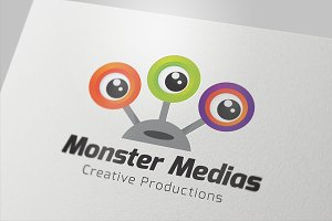 Monster Medias Logo